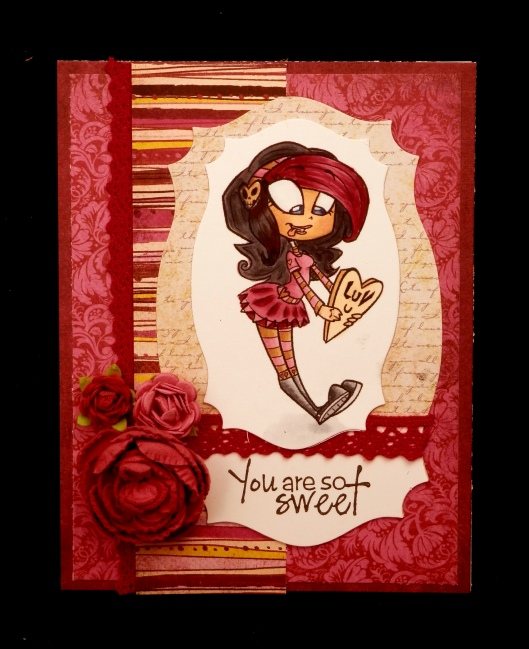 Simply Betty Stamps Emo Valentine Rio
