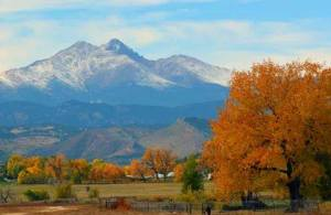 Mt Meeker and Pikes Peak